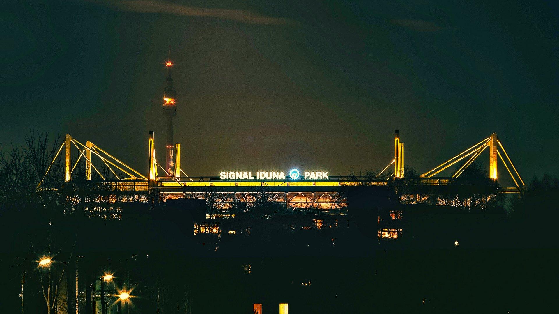 Signal Iduna Park Von Oben