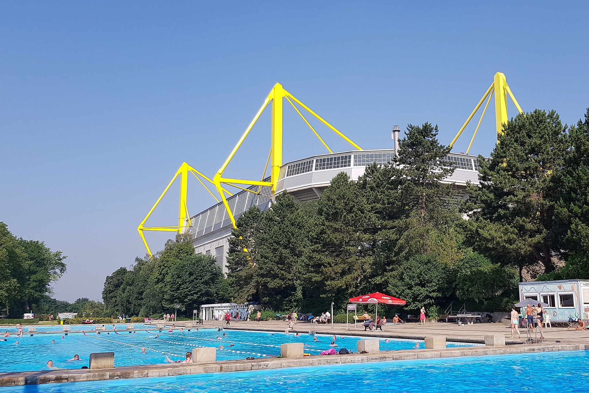 Freibad In Dortmund