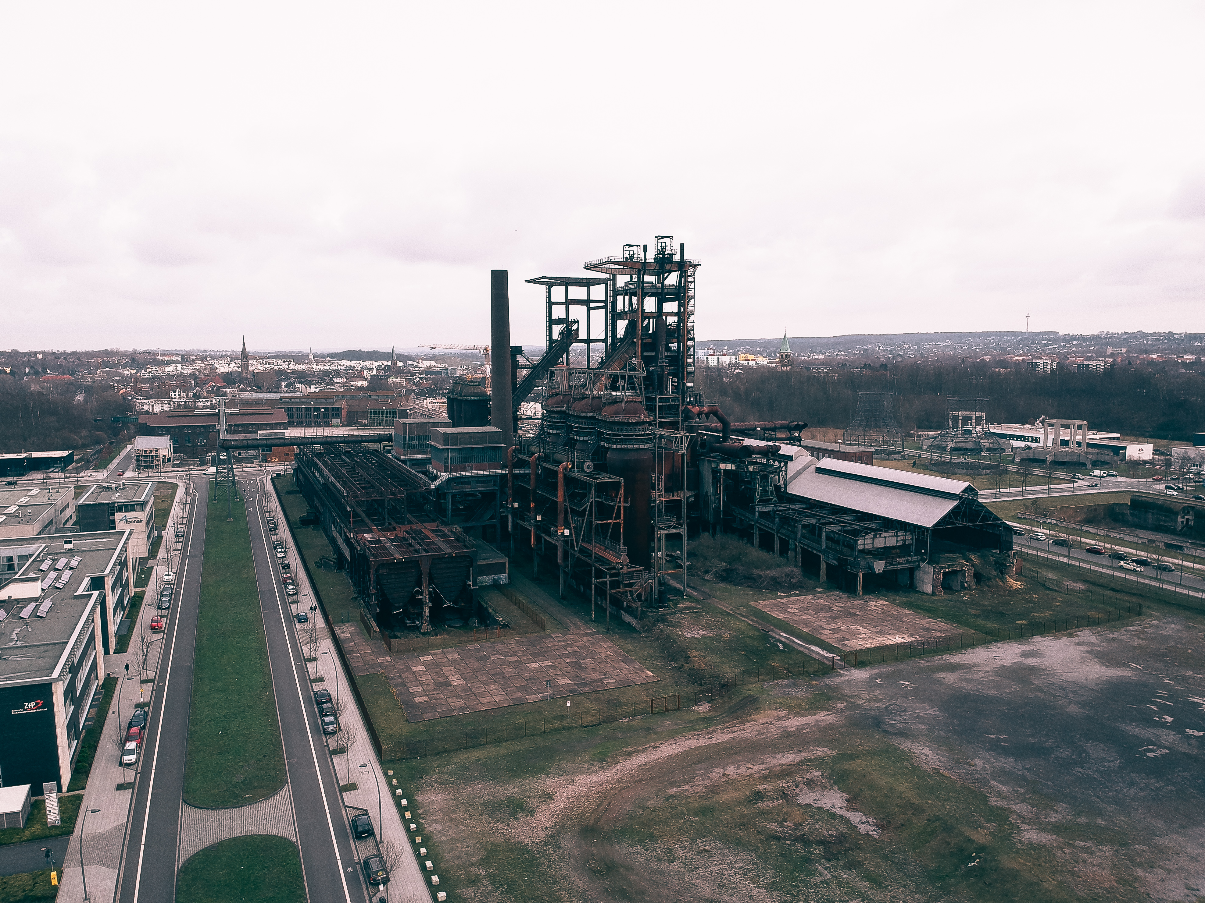Panorama of the furnance PHOENIX West.