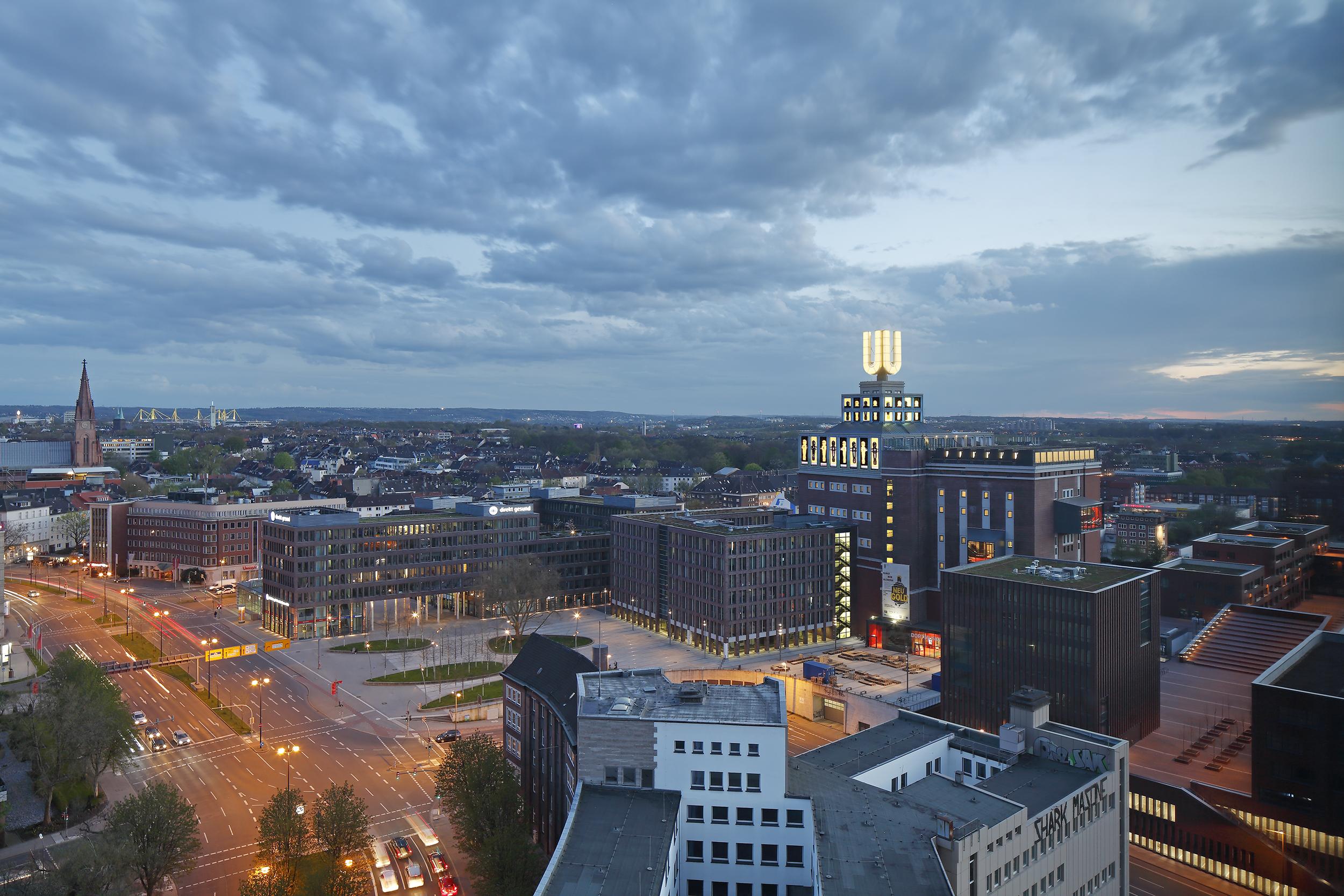 Dortmunder U U2013 Landmark Viewpoint And Culture In Dortmund